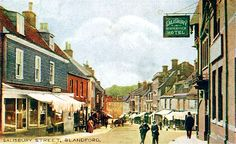 Postcards of the Past - Blandford Forum, Dorset