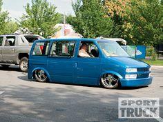 Dropped Astro Van