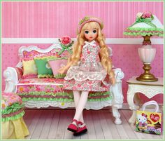 Ruruko doll - photo and craft by Debby Emerson