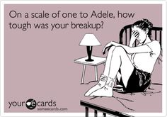 on a scale of one-adele