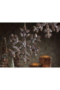 pinecone snowflake | Christmas Wreaths