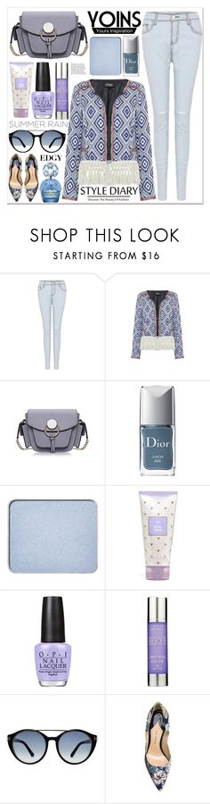 """Yoins 14"" by black-fashion83 ❤ liked on Polyvore featuring Christian Dior, shu uemura, OPI, Alterna, Tom Ford, Paul Andrew, Marc Jacobs and Anja"