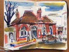 Crofton Park Station - South East London.