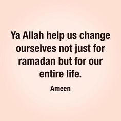 Fasting isn't about how strong you are to stay away from food you like but how you can stay away from things that keep you away from Allah. #Ameen