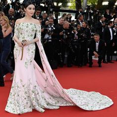 Fan Bingbing In Ralph & Russo Couture - 'La Tete Haute' Cannes Film Festival Premiere & Opening Ceremony - Red Carpet Fashion Awards