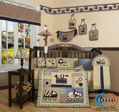 Found It At Wayfair Geenny Boutique Baby Boy Constructor 13 Piece Crib Bedding Set
