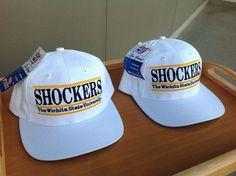 Vintage Wichita State University SHOCKERS caps, by The Game. NOS DEADSTOCK #TheGame #WichitaStateShockers