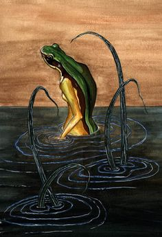 Heqet, Ancient Egyptian Frog-Headed Goddess of Childbirth