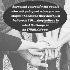 Make sure your crew believes in you and what God is doing through you!  #PurposefulWednesdays  #Intentionalliving  #Robinmayonline  #Livelife #Purpose #Destiny