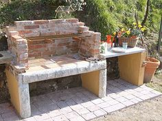 stone barbecues - Google Search