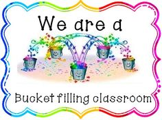 Bucket Filler Clip Art | Click HERE to get it for free:) Thanks to Hello Literacy for the fonts ...