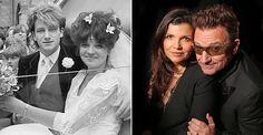 Bono & Ali ~  then & Now
