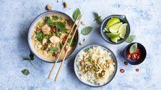 Finnish Recipes, Fresh Rolls, Cantaloupe, Seafood, Curry, Fruit, Ethnic Recipes, Sea Food, Curries