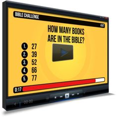 General Bible Trivia Countdown Video www.childrens-ministry-deals.com