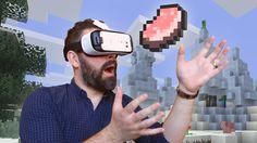 Minecraft para Gear VR ya disponible en la tienda Oculus