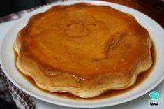 Receta de Flan de queso casero muy fácil - Paso 7 Pancakes, Pie, Breakfast, Desserts, Beautiful, Pudding Icing, Toffee Recipe, Pudding Recipe, Cold Desserts