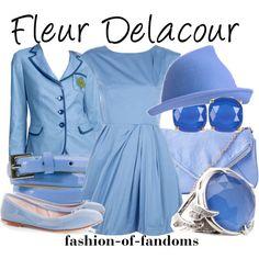 """""""Fleur Delacour"""" by fofandoms on Polyvore"""