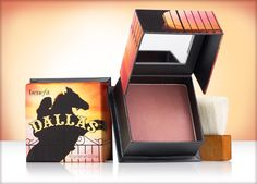 Benefit Cosmetics - dallas, an outdoor glow for an indoor gal face powder #benefitcosmetics