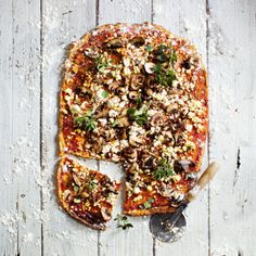 Low carb pizza for the taking.