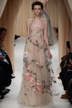 Valentino S/S'15 Couture: An Art, Poetry AND Fashion Lesson All Rolled Into One... | InStyle UK