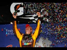 Kyle Busch wins the Capital City 400 at Richmond International Speedway on 4/28/2012
