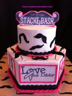 Mustache Cake #mustache #mustachecake #mustachebash