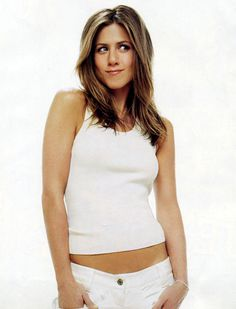 Jennifer Aniston only has to look at you in that way to make your  knees  go week