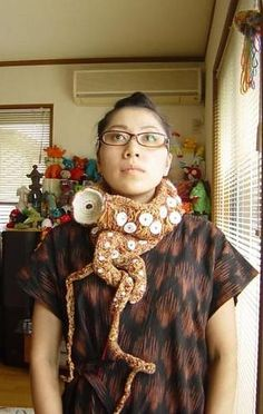 Eight Arms to Hold You | Octopus | Tentacle | tentacle scarf/art jewelry
