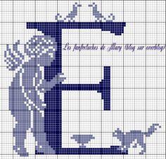 ange - angel - point de croix - cross stitch - Blog : http://broderiemimie44.canalblog.com/