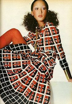 In the '70s, Pat Cleveland basically invented the runway walk as event.