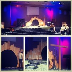 Fantastic website for church stage design ideas!