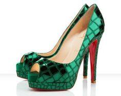 love the emerald green