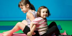 Kids' Yoga Poses Are Just As Effective As The Grown-Up Versions, But Cuter (PHOTOS)