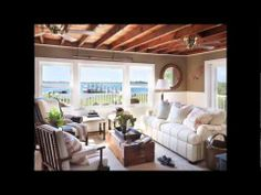 Discover living room color ideas and smart living room decor tips that Visit Ideal Home Garden for i Living Room Decor Tips, Cottage Room, Cottage Style, Nautical Interior Design, Interior Design, Cozy Coastal Cottage, Cottage Style Decor, House Interior, Cottage Living Rooms