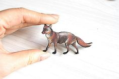Woodland Fox Pin/Brooch by RedBirdMakes on Etsy