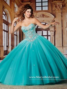 Mary's Bridal Beloving Collection Quinceanera Dress Style 4495