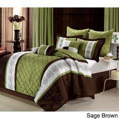 Merveilleux Livingston 8 Piece Comforter Set