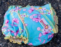 Paige One-Size Fitted Diaper (Knit, Serged, Organic Bamboo Velour) by thegoodmama.com, via Flickr