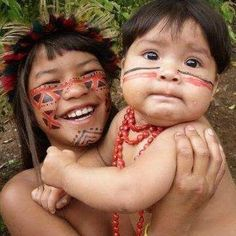 """Find and save images from the """"Indios Brasileiros"""" collection by katita (katitalou) on We Heart It, your everyday app to get lost in what you love. Beautiful Smile, Beautiful Children, Beautiful Babies, Beautiful People, Amazing People, Arte Tribal, Street Portrait, People Around The World, American Artists"""