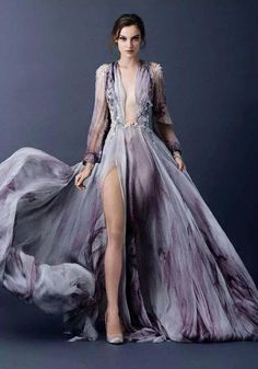 Breathtaking Look of Paolo Sebastian Fall Winter Couture - Be Modish Ohh Couture, Style Haute Couture, Couture Fashion, Runway Fashion, Couture 2015, Couture Week, Evening Dresses, Prom Dresses, Formal Dresses