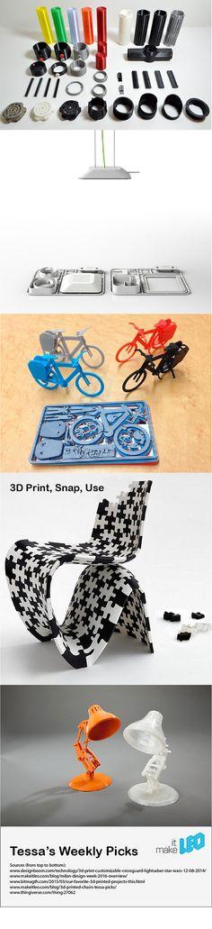 Tessa's Weekly Picks 3D Print, Snap and Use - Make it LEO