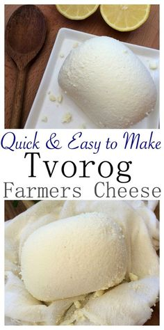 This recipe is such a time saver when making Tvorog, Farmers Cheese, Quark, White Cheese, Gvina Levana and many more names.