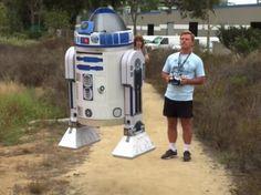Galaxy Fantasy: Un R2 D2 volador ha sido desarrollado para exhibir en la Comic-Con de San Diego