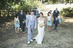 california rustic style wedding