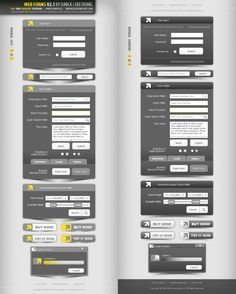 Web Forms V3.0 layered PSD by djnick2k on DeviantArt