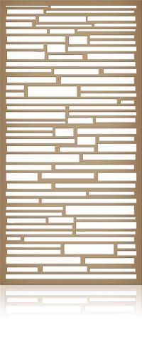 Ажурная декоративная перегородка из фанеры или дерева для зонирования пространства в комнате, квартире, офисе, артикул 37