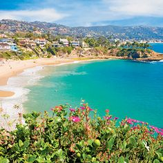 Laguna Beach, California.  This is my absolute favorite beach for Girlfriend Weekends!  So much shopping and great restaurants!  Very relaxed vibe.....
