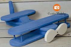 NEWBORN AIRPLANE Photography PROP  Wooden by CreativeWorkshopProp