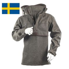 Jagdanorak - Militär-Loden - Made in Sweden M (50/52)