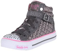 Skechers Kids Twinkle Toe Heart and Sole Light Up Sneaker (Little Kid/Big Kid) -- See this great product.